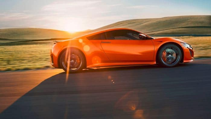 2019 Acura NSX Thermal Orange