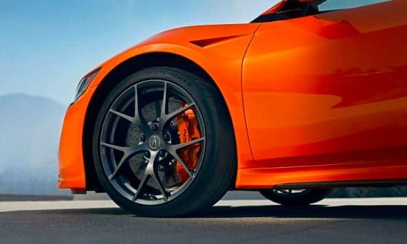 2019 Acura NSX tires