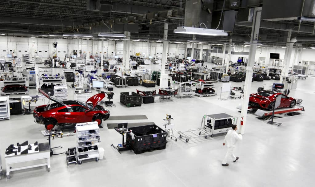 Acura NSX Ohio Assembly Plant