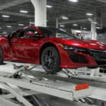 Acura NSX Assembly Lift