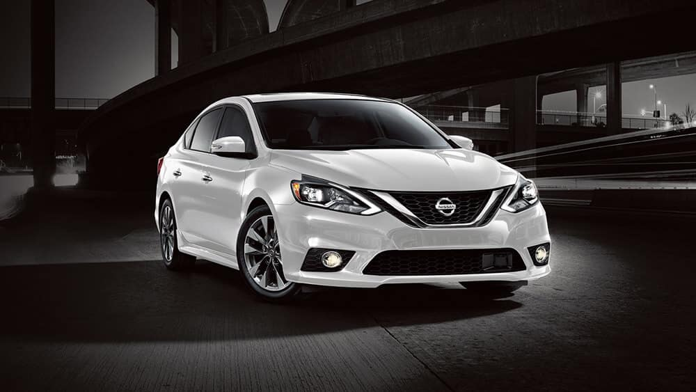 2018 Nissan Sentra in white
