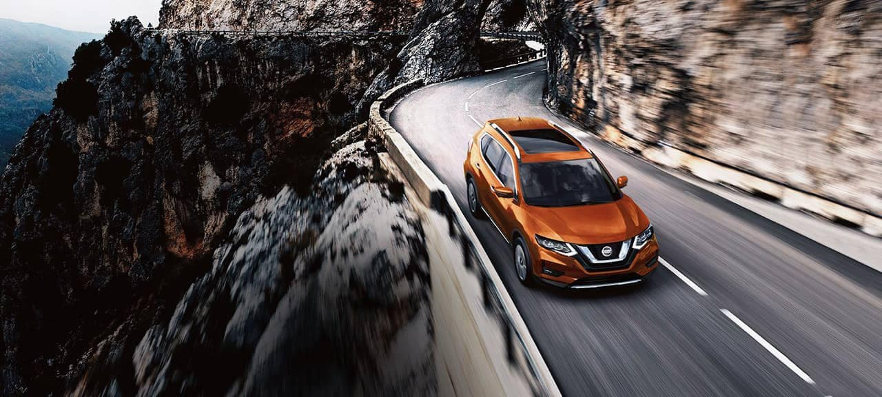 2018 Nissan Rogue Crossover on highway