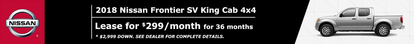 Frontier SV King Cab