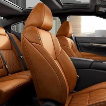 2019 Nissan Maxima interior seating