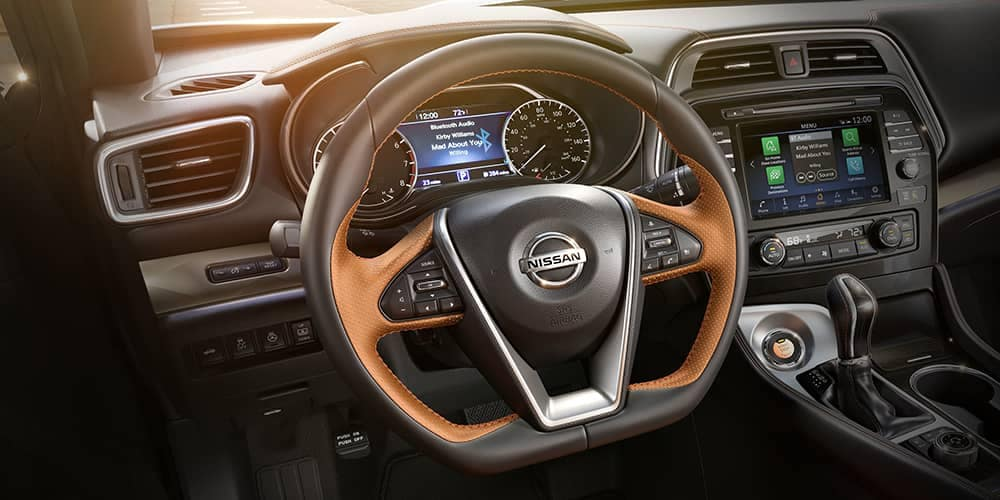 2019 Nissan Maxima steering wheel