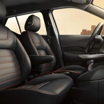 2019 Nissan Kicks seats