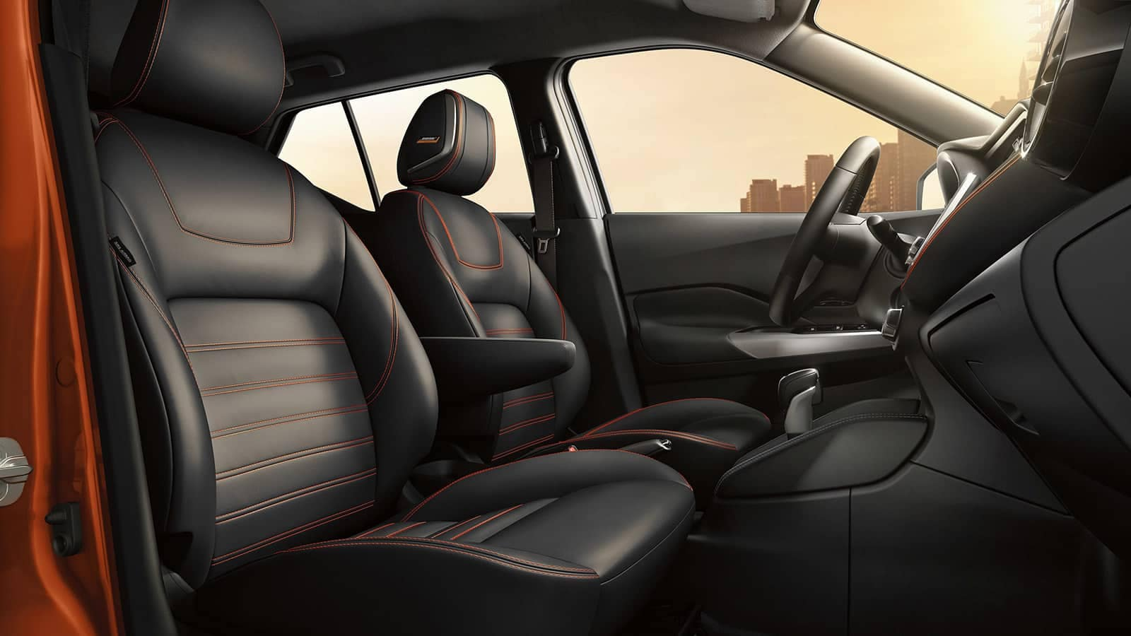 2019 Nissan Kicks seats