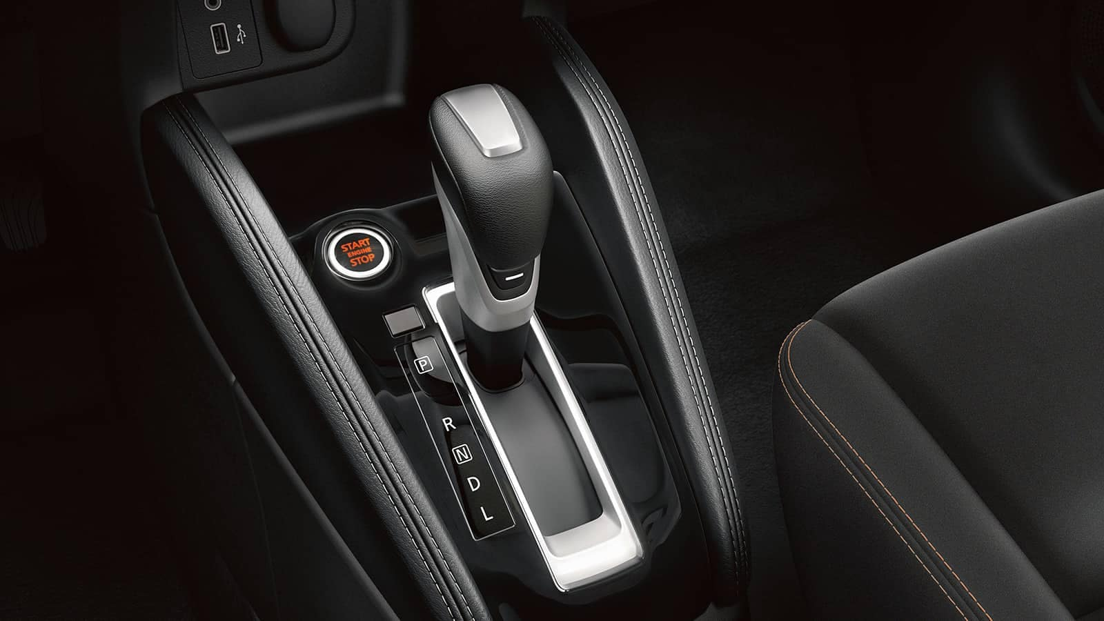 2019 Nissan Kicks shifter