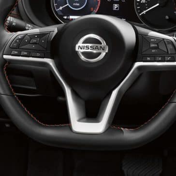 2019 Nissan Kicks steering wheel
