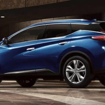 2019 Nissan Murano blue exterior