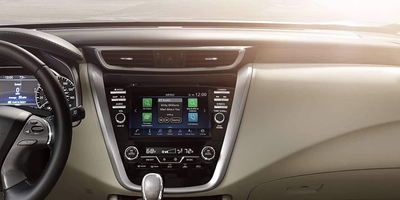 2019 Nissan Murano dashboard