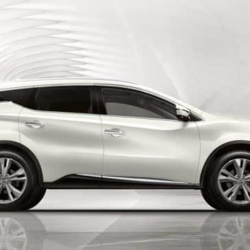 2019 Nissan Murano white profile