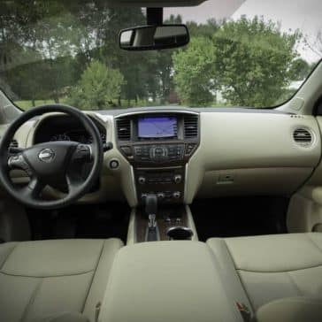 2019 Nissan Pathfinder dashboard