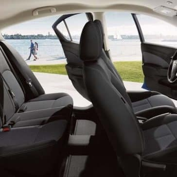 2019 Nissan Versa interior seating