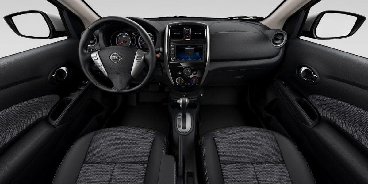 2019 Nissan Versa dashboard