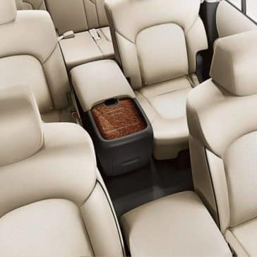 2019 Nissan Armada Seating