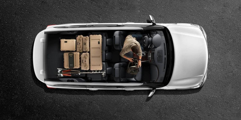 2019 Nissan Armada Top View