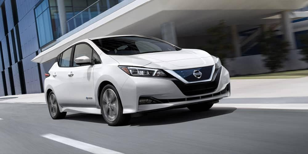2019 Nissan Leaf White