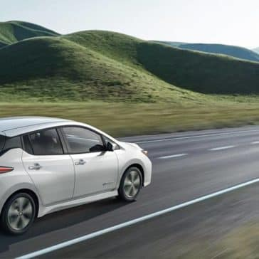 2019 Nissan Leaf Rear