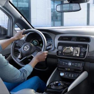 2019 Nissan Leaf Cabin