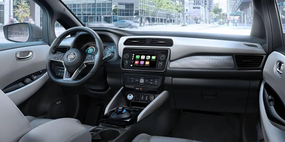 2019 Nissan Leaf Dash