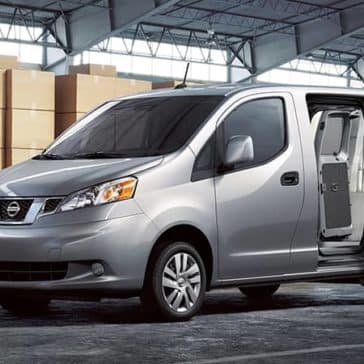 2019 Nissan NV200 Parked