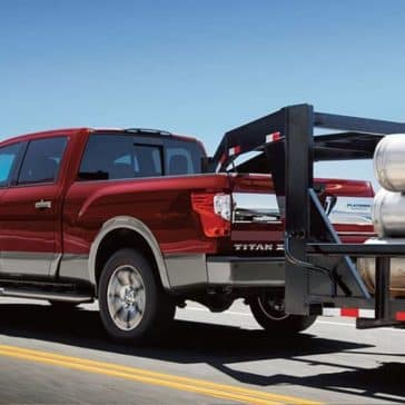 2019 Nissan Titan XD Towing