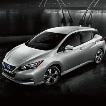 2020 Nissan Leaf Parked