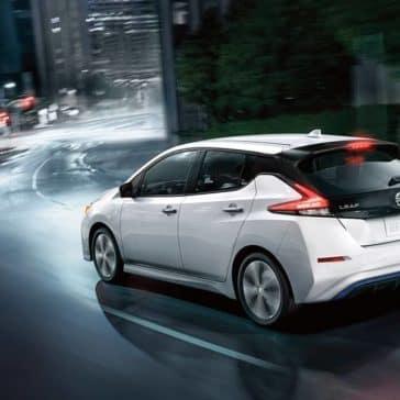 2020 Nissan Leaf Rear