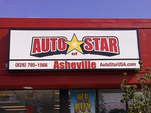 used cars asheville nc autostar asheville westgate sign