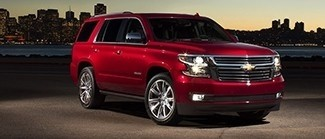2017 Tahoe Red