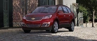 2017 Traverse Red