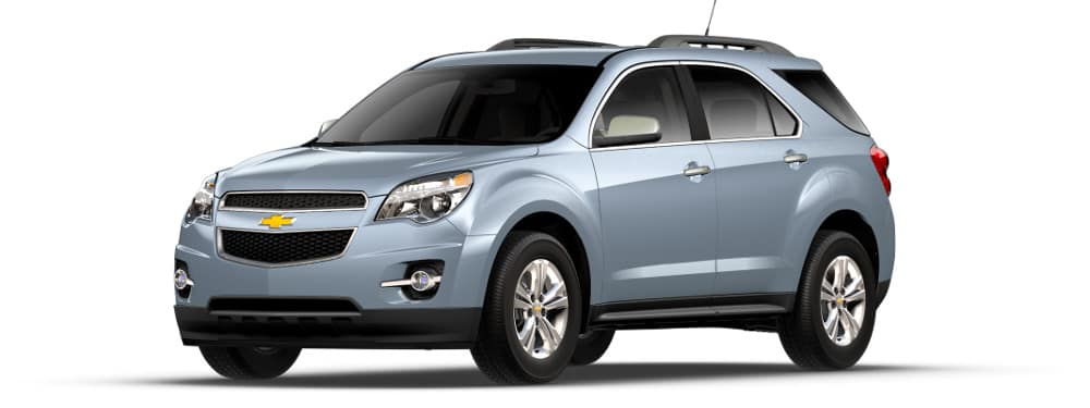 2014 Chevrolet Equinox on white back ground