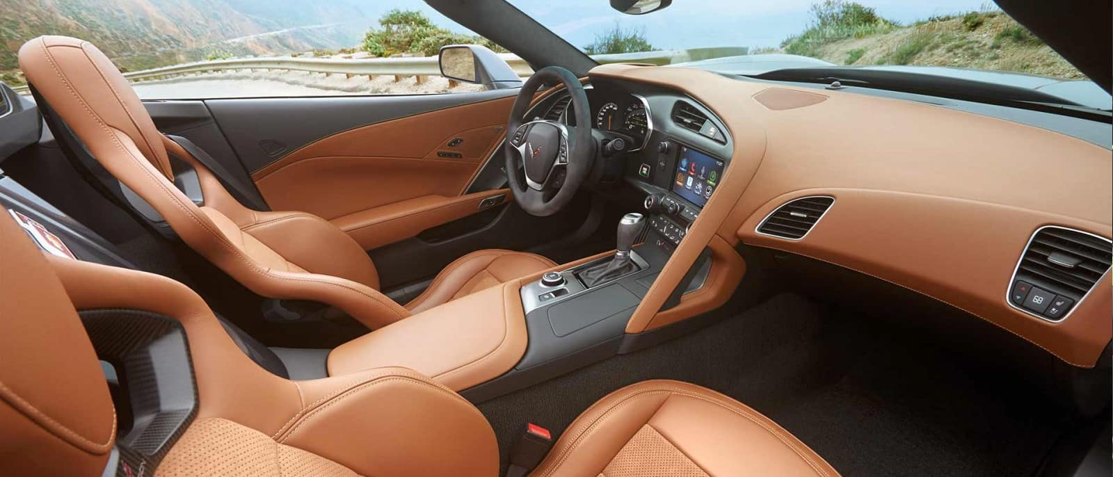 2014 Chevy Corvette interior