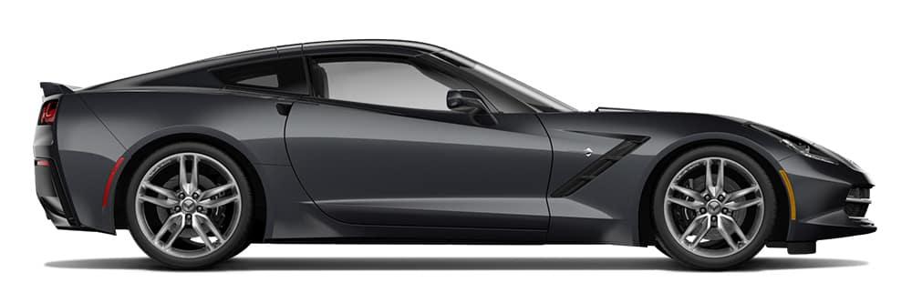 2014 Chevy Corvette Stingray side view