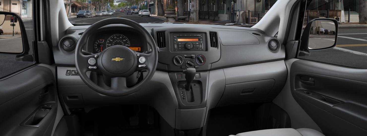 2015 Chevrolet City Express Interior