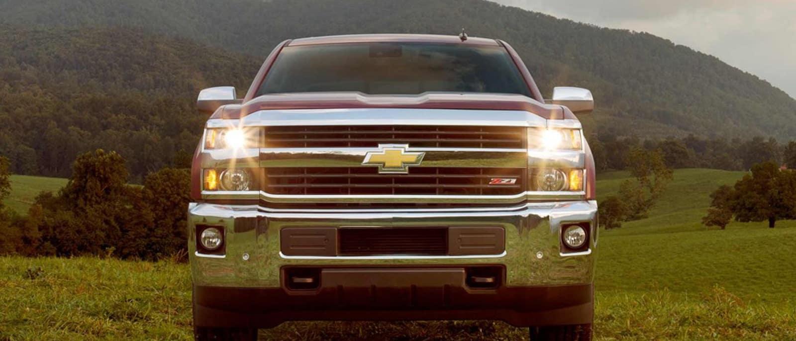 2015 Chevy Silverado Front