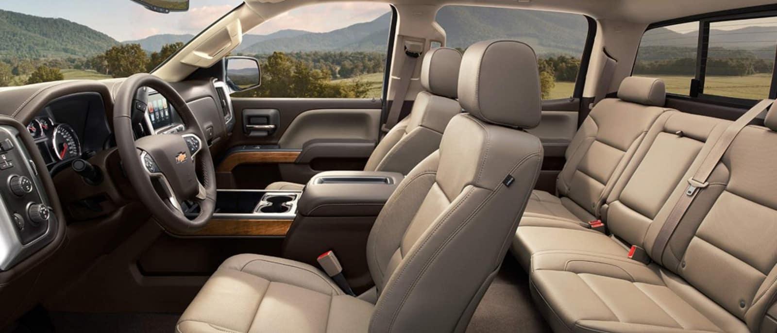 2015 Chevy Silverado HD Interior