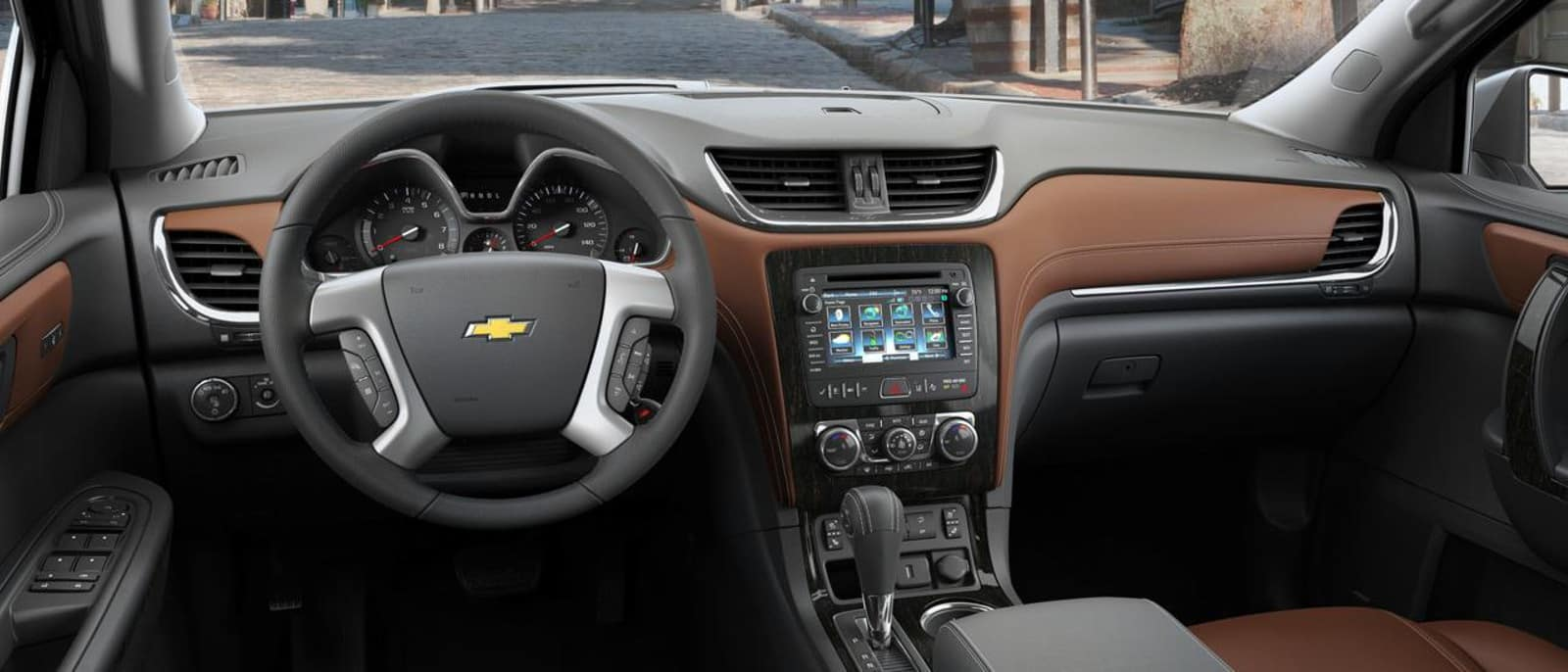 2016 Chevrolet Traverse interior