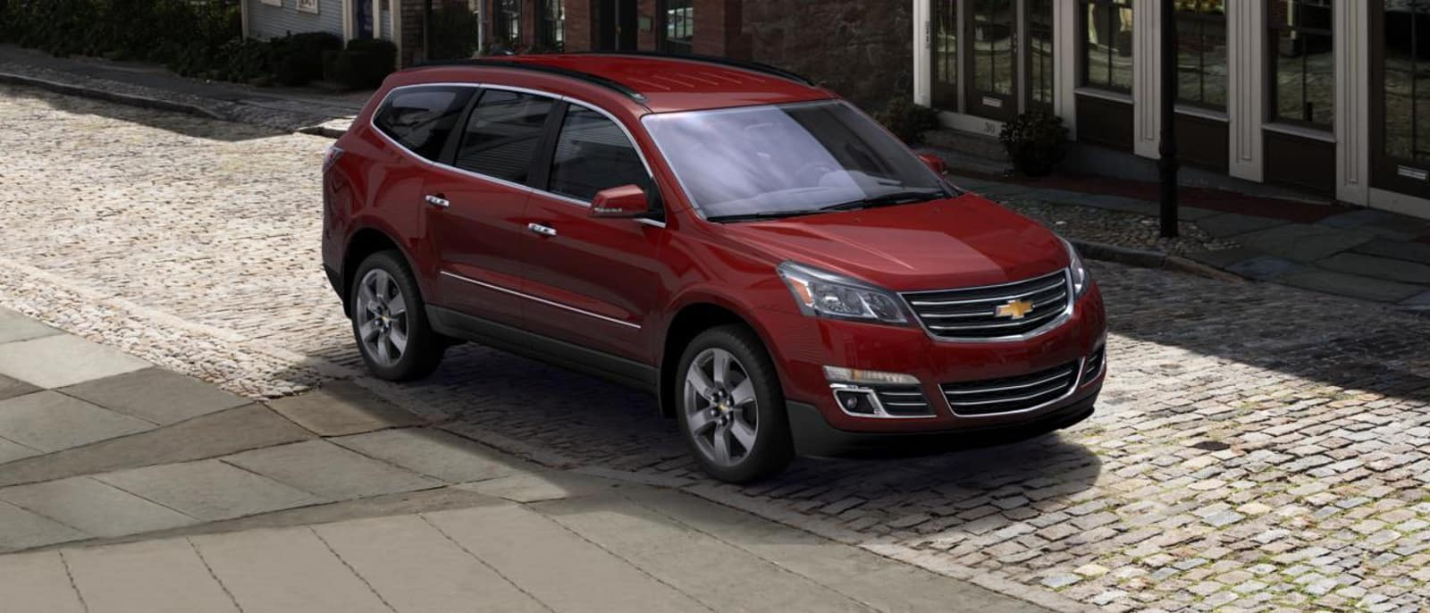 2016 Chevrolet Traverse front view