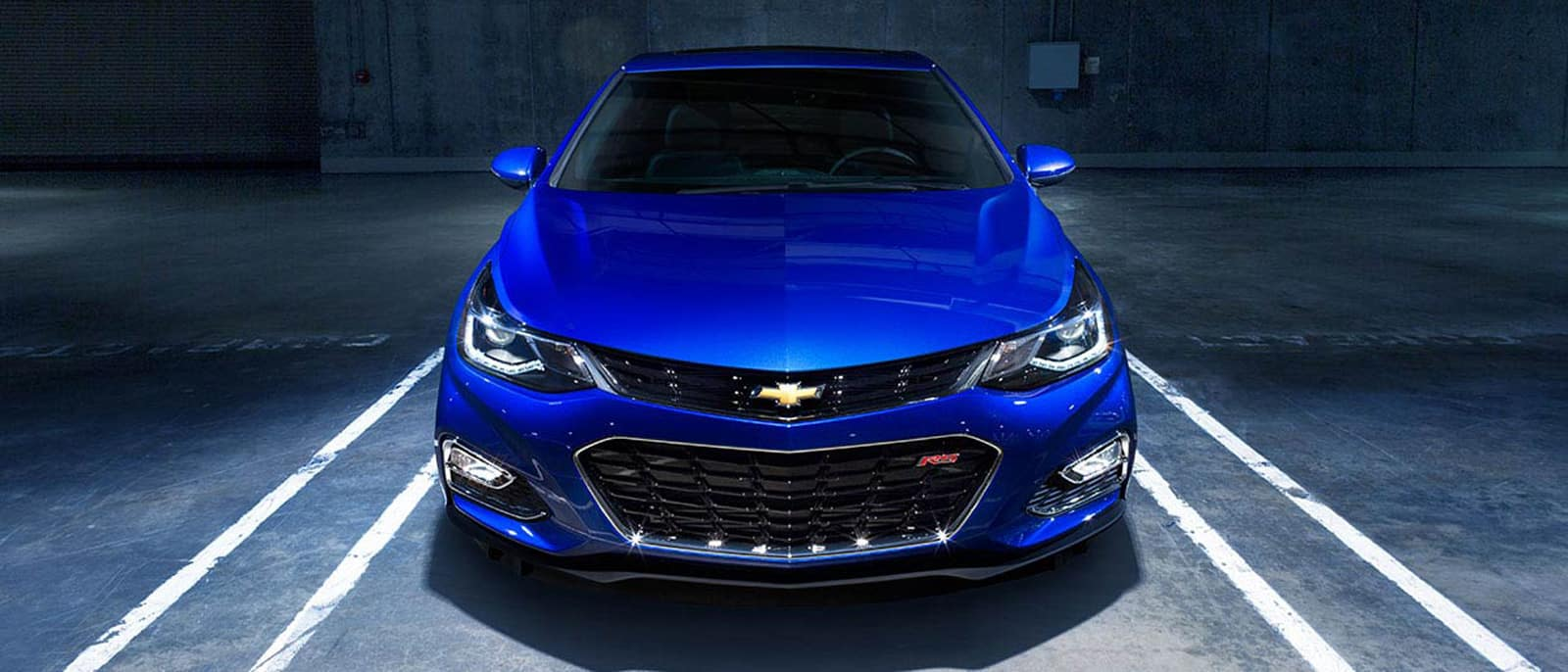 Chevrolet Cruze front end
