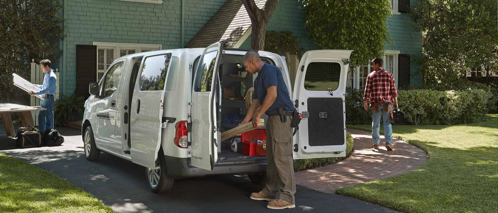 2016 Chevrolet City Express exterior and cargo