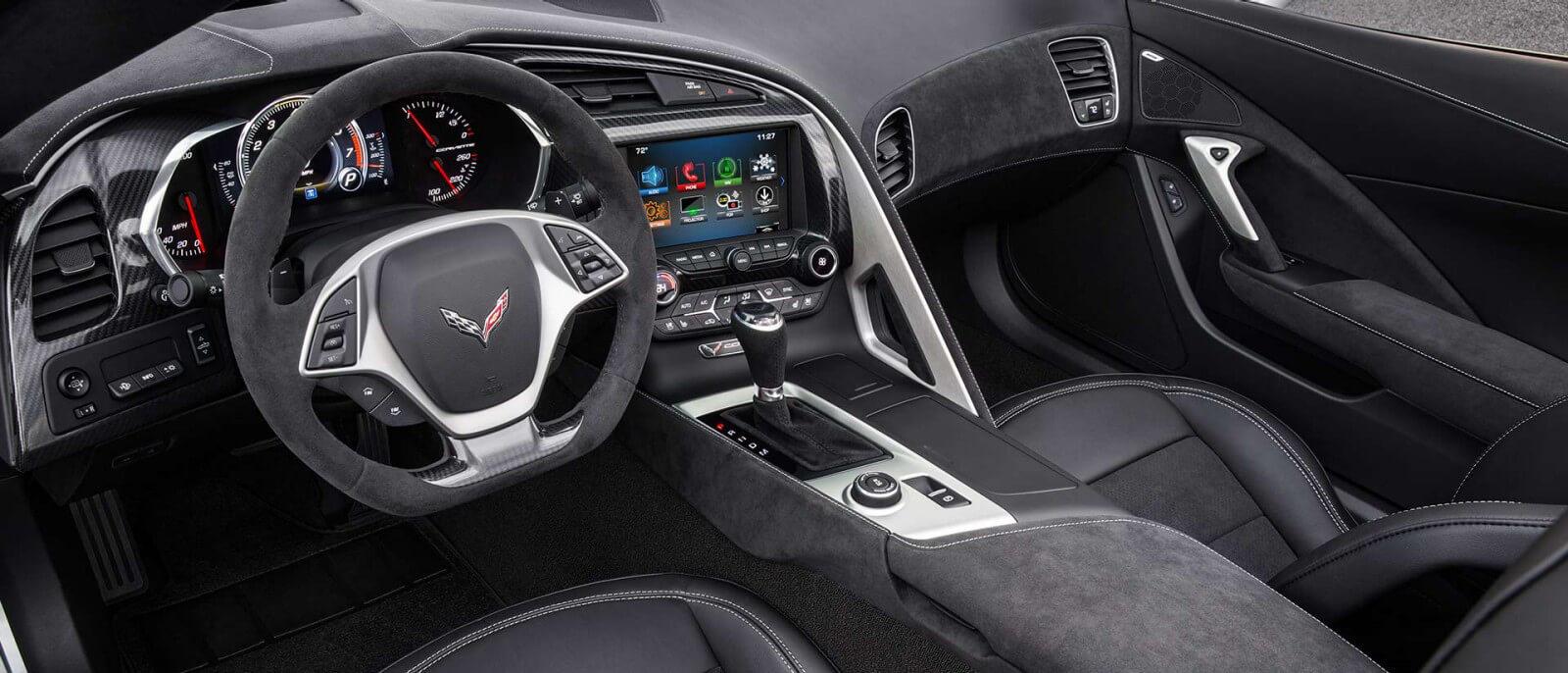 2017 Chevrolet Corvette dashboard
