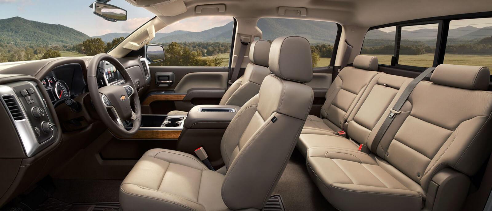 2017 Chevrolet Silverado 1500 Interior
