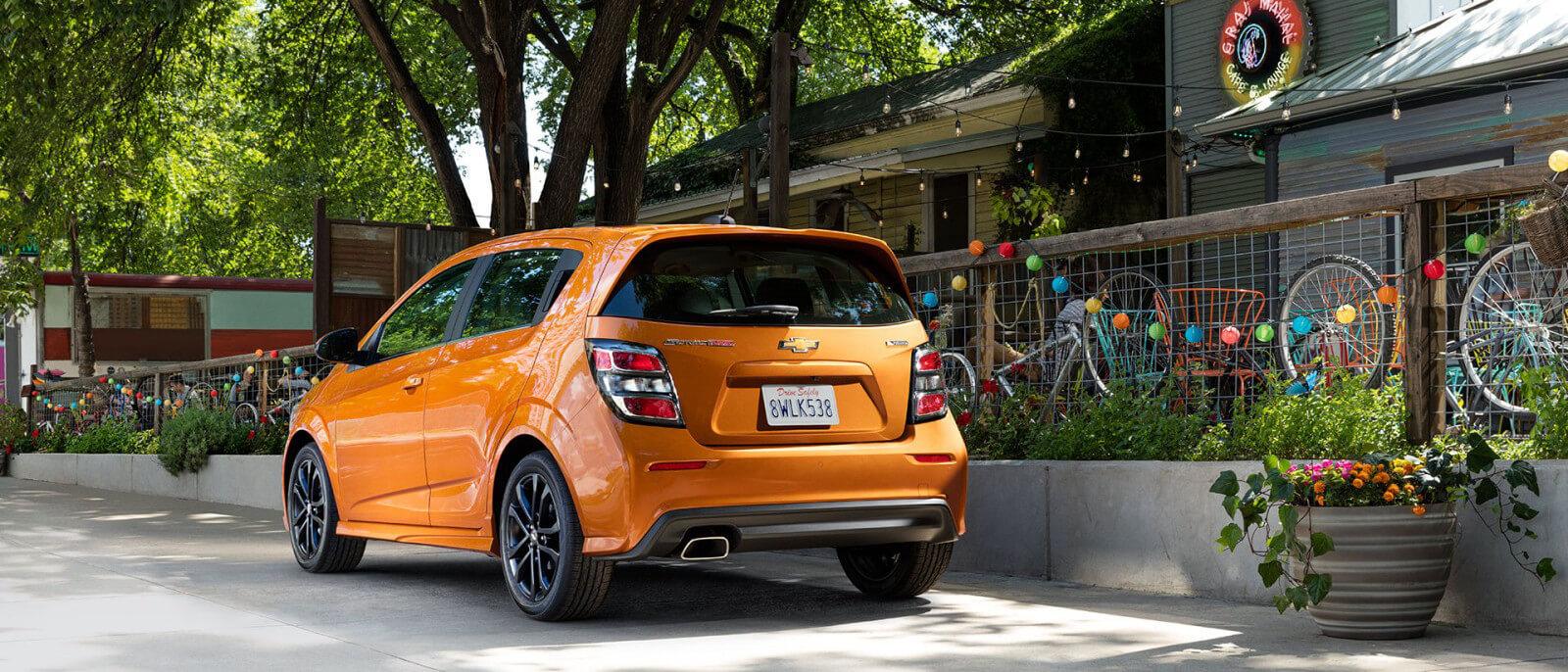 2017 Chevrolet Sonic rear exterior
