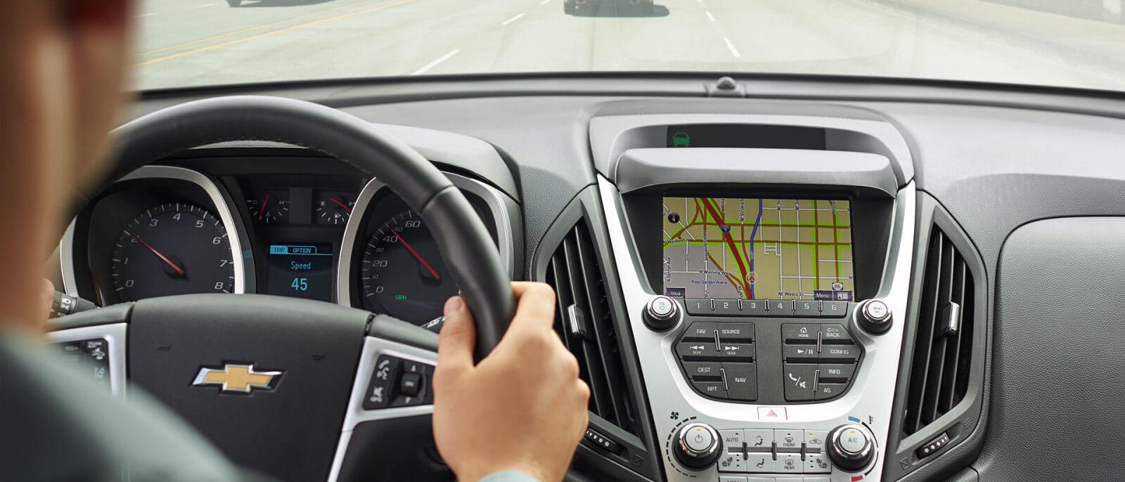 Chevrolet Equinox navigation