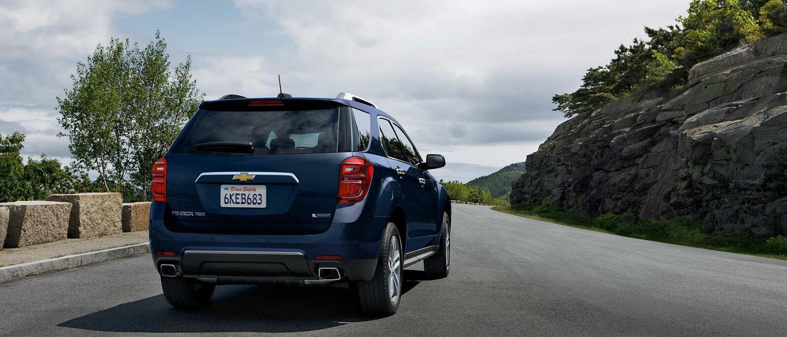 Chevrolet Equinox rear exterior