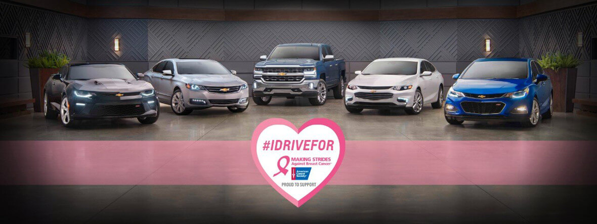 Chevrolet Partners with American Cancer Society