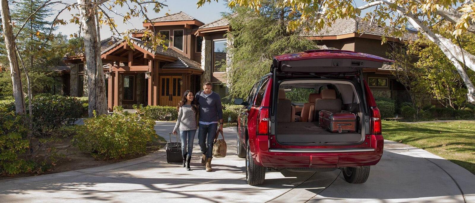 2017 Chevrolet Tahoe cargo space