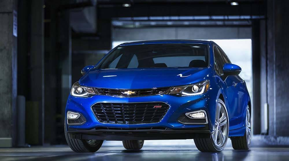 2017 Chevy Cruze Premier Kinetic Blue Gallery1